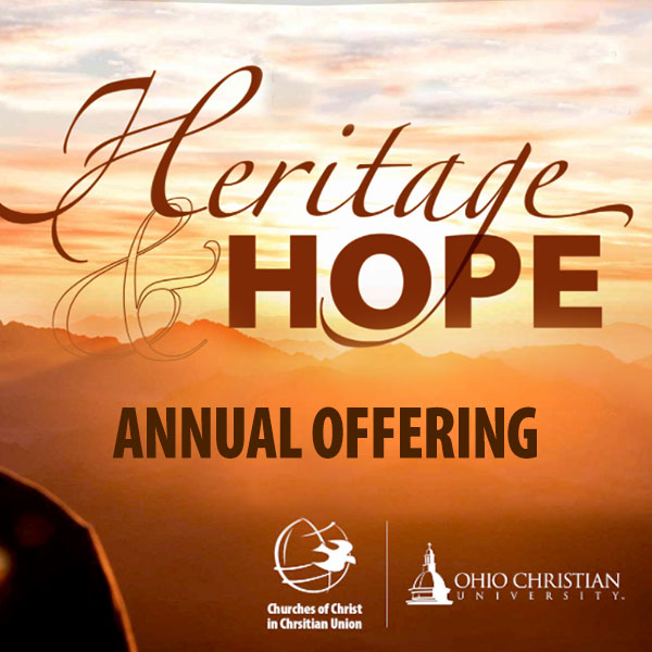 2021 Heritage and Hope Annual Offering