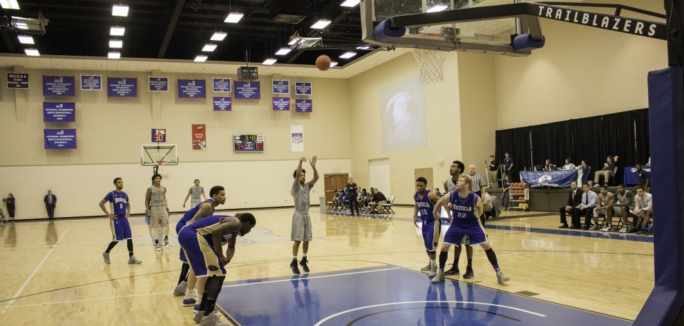 Brescia Unable to Catch Trailblazers in KIAC Action image