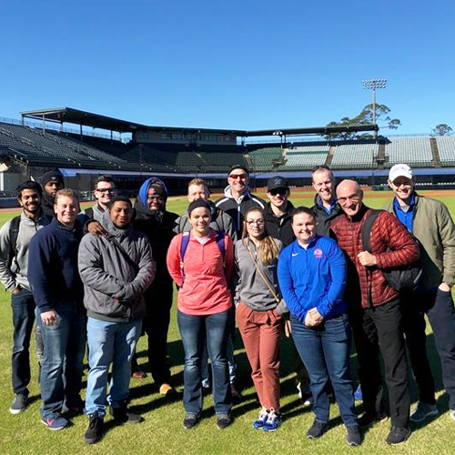 Students Travel to Alabama, Gaining Sports Business Experience image
