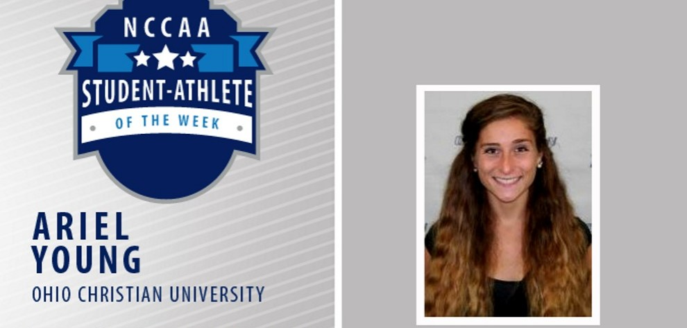 Ariel Young Receives Student-Athlete of the Week Honors image