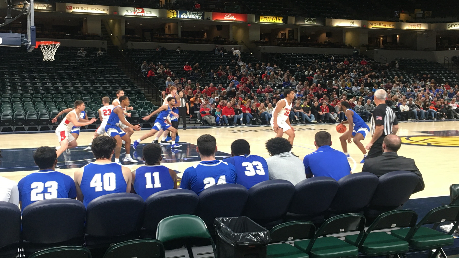 Lancers Defeat Trailblazers In 2019 Court of Dreams Classic image