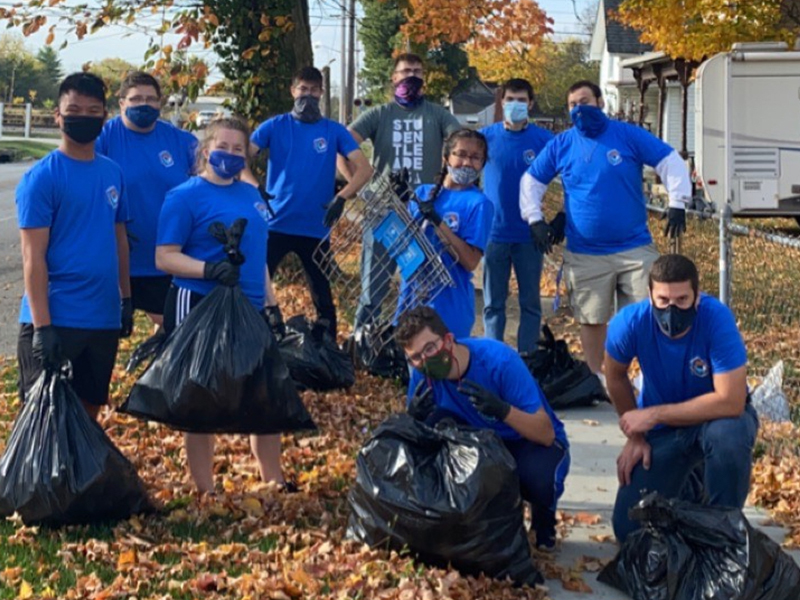 OCU Tennis Team Serves on Community Action Day