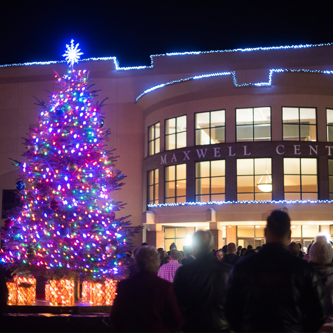 Fireworks and Christmas Lighting Usher in Advent Season image