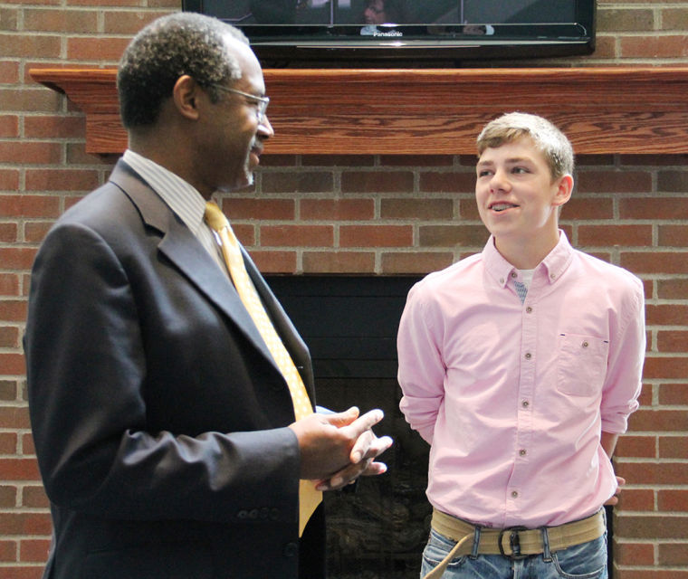 Teen's Meeting with Carson a Wish Come True image