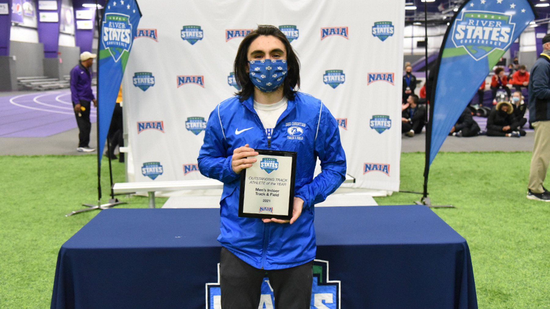 Dickerson Selected RSC Men's Indoor Track Athlete of the Year and Week
