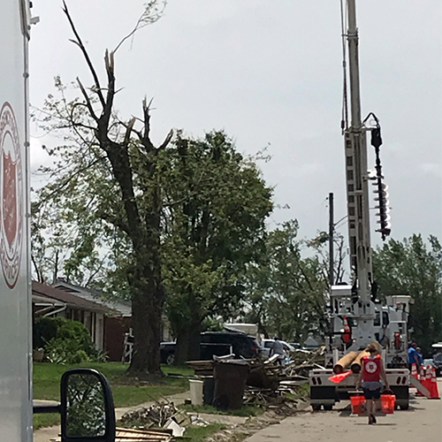 OCU Joins Disaster Relief Efforts in Dayton image