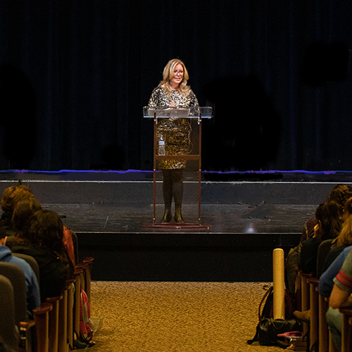 Internet Safety Advocate Speaks On Campus image
