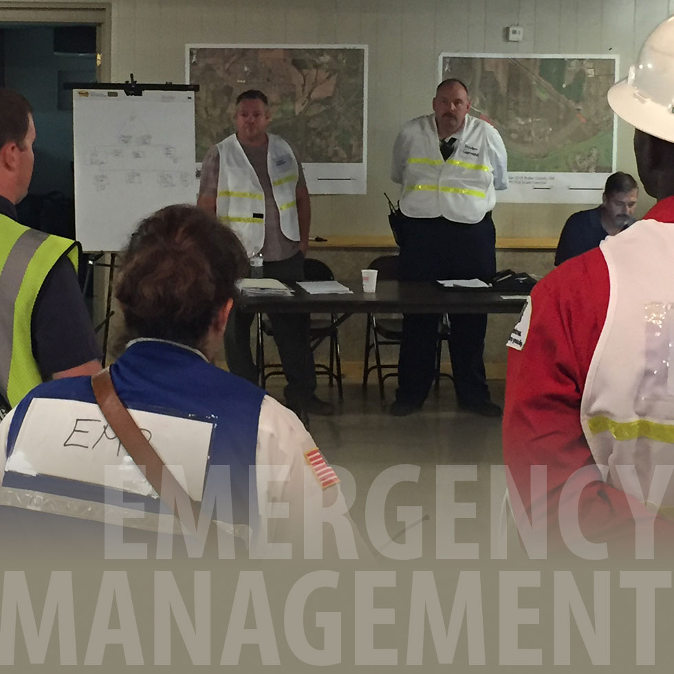 Emergency Management Students Participate in Great Miami River Exercise image