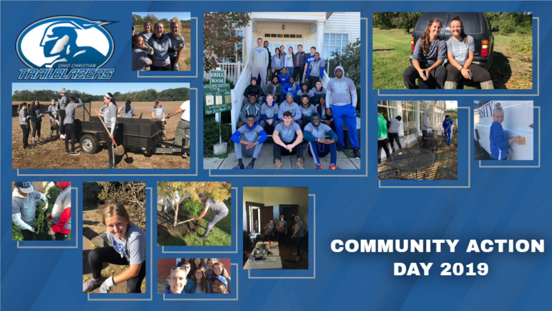 Trailblazers Participate In 21st Annual Ralph C. Starkey Community Action Day image