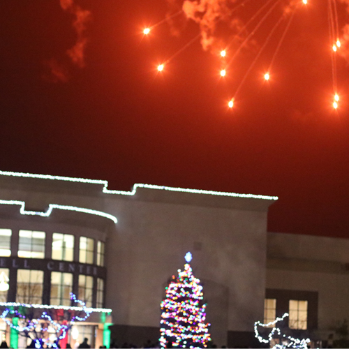 OCU Celebrates Christmas with Tree Lighting, Fireworks, and Fun  image