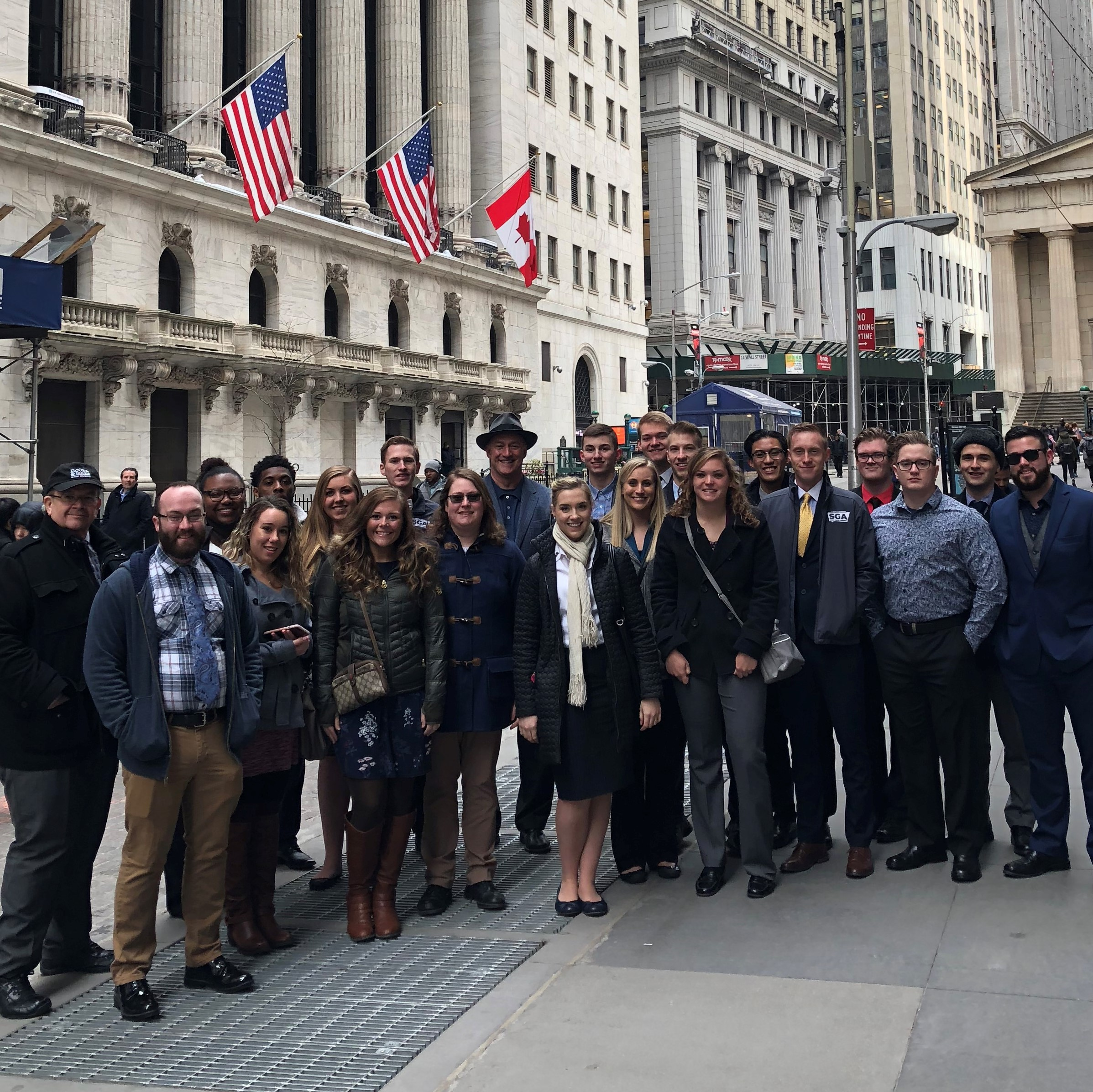 OCU Students Enjoy Wall Street Experience Word