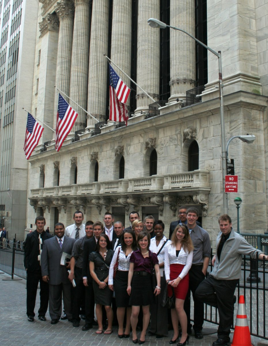 OCU Business Students Visit New York Stock Exchange image