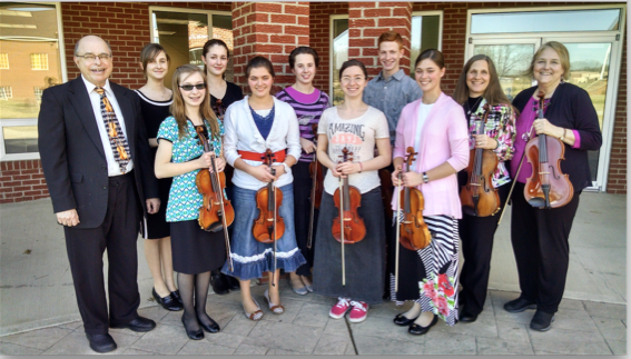 Ohio Christian University Chamber String Ensemble to Minister in Japan
