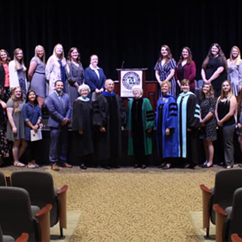OCU Kappa Delta Pi Chapter Inducts 28 New Members image