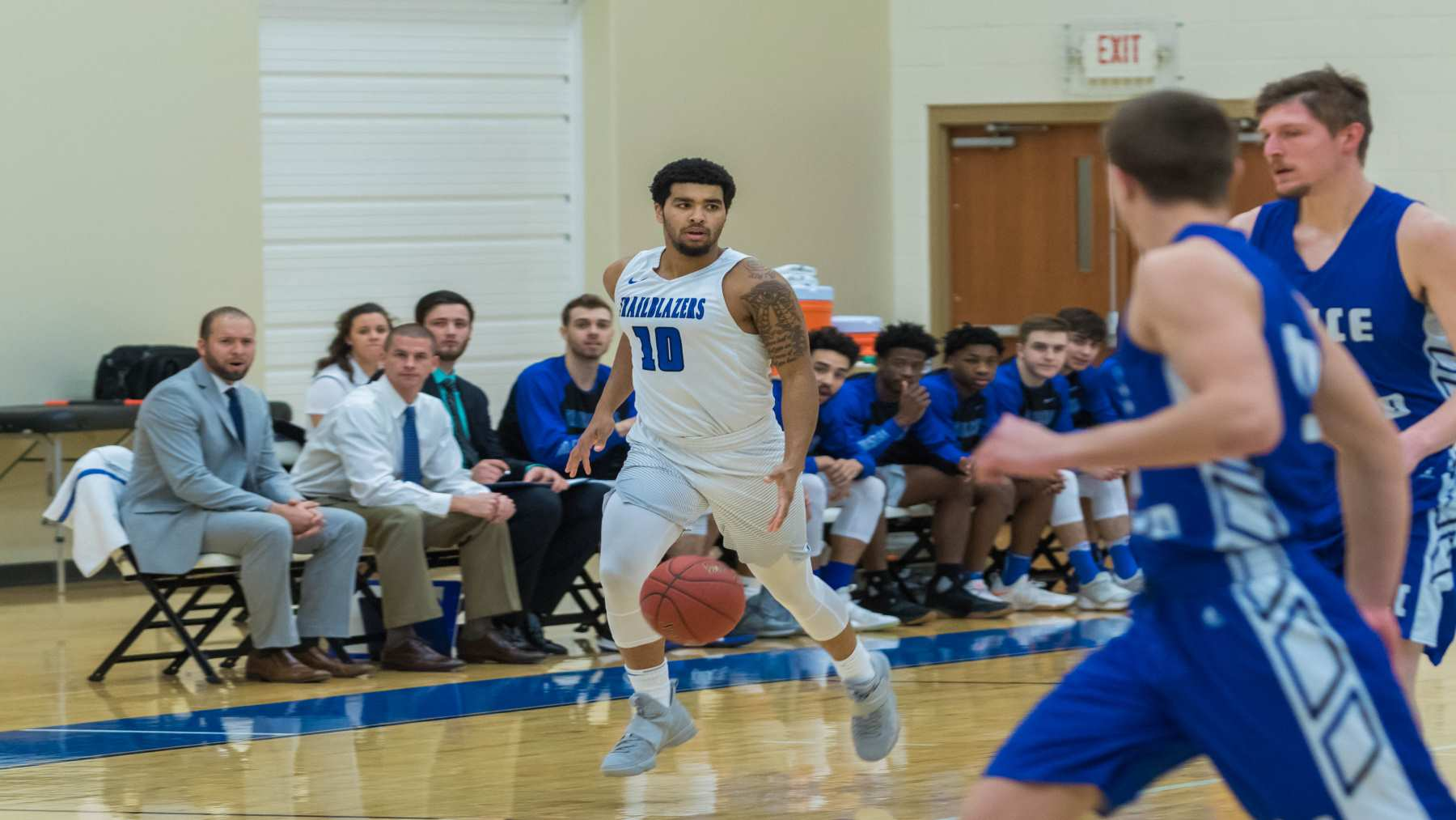 Slow Start Hurts Trailblazers In Loss At Carlow image