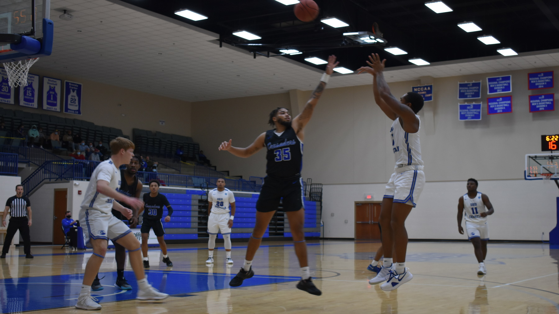 Crusaders Come From Behind To Defeat Trailblazers