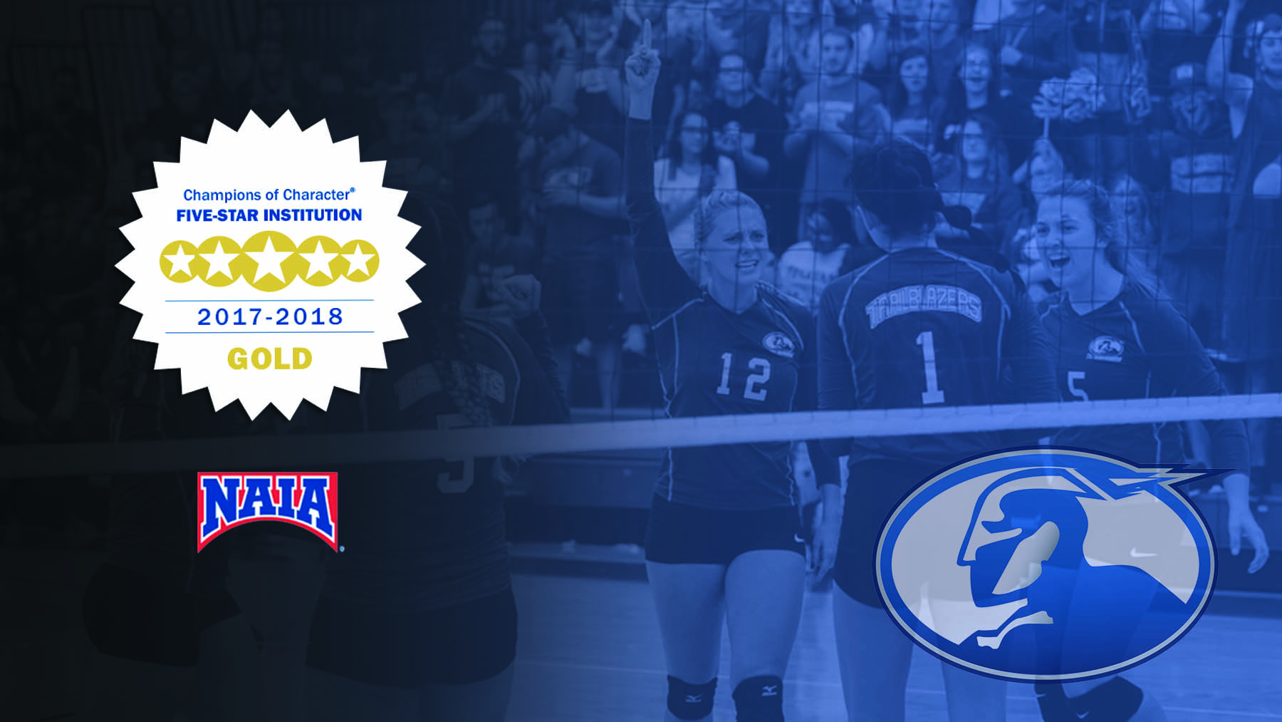 Ohio Christian University Named 2017-18 NAIA Champions of Character Five-Star Institution image
