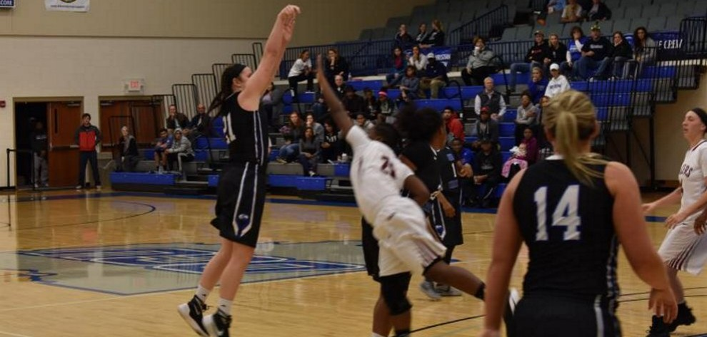 Lady Trailblazers Take Win In Home Opener image