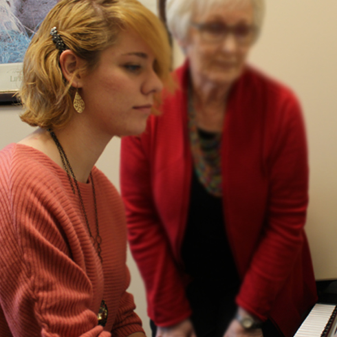 Music Department Offers New Piano Pedagogy Certificate Program image