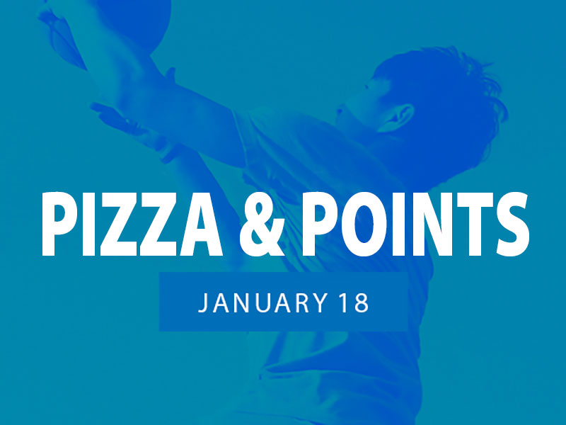 OCU Pizza and Points Event