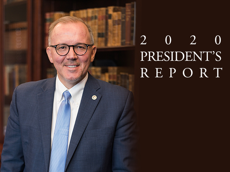 President's Report for 2020 Released