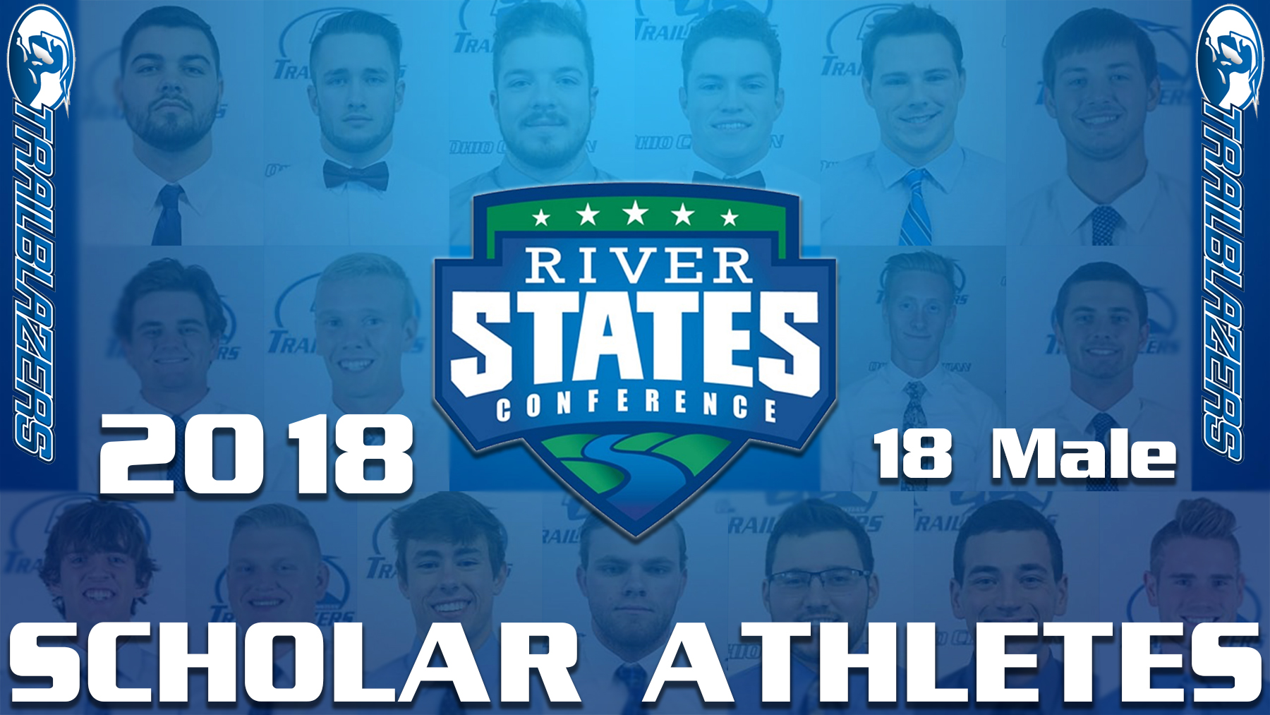 18 Male OCU Athletes receive Scholar Athlete Honors image