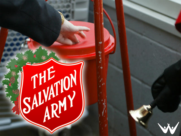Salvation Army Red Kettle - Doing the Most Good!