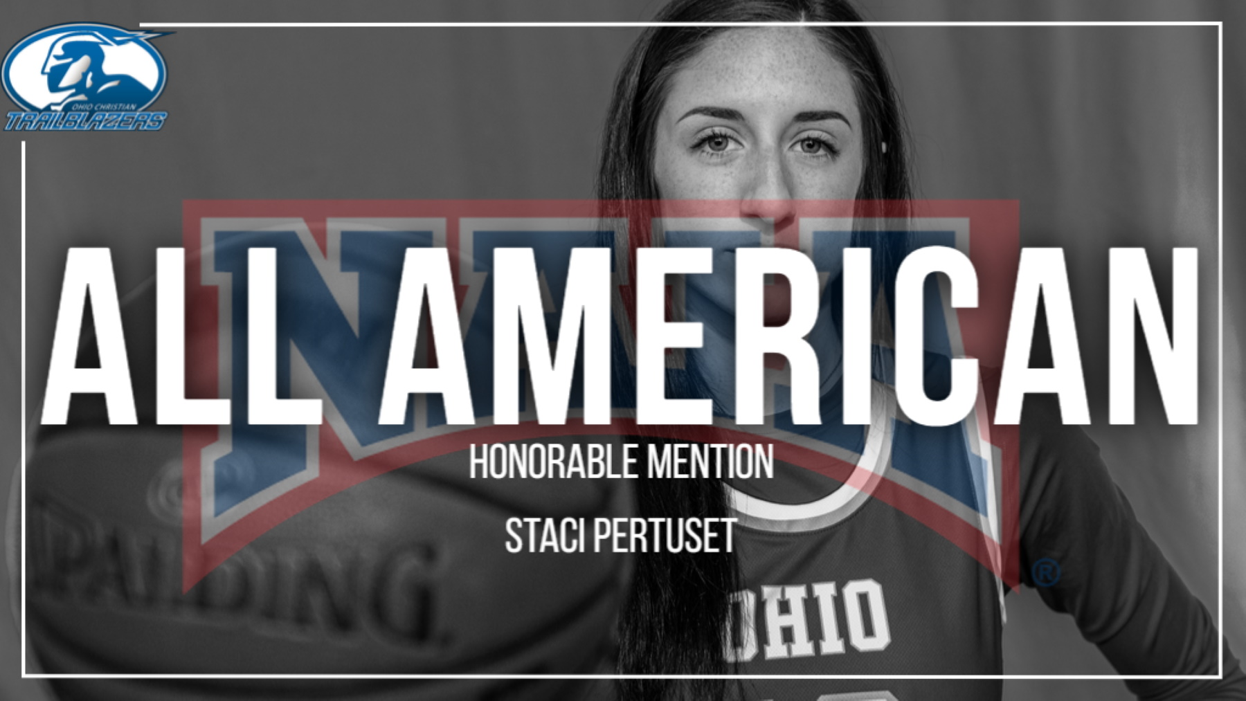Pertuset named naia all-american honorable mention image