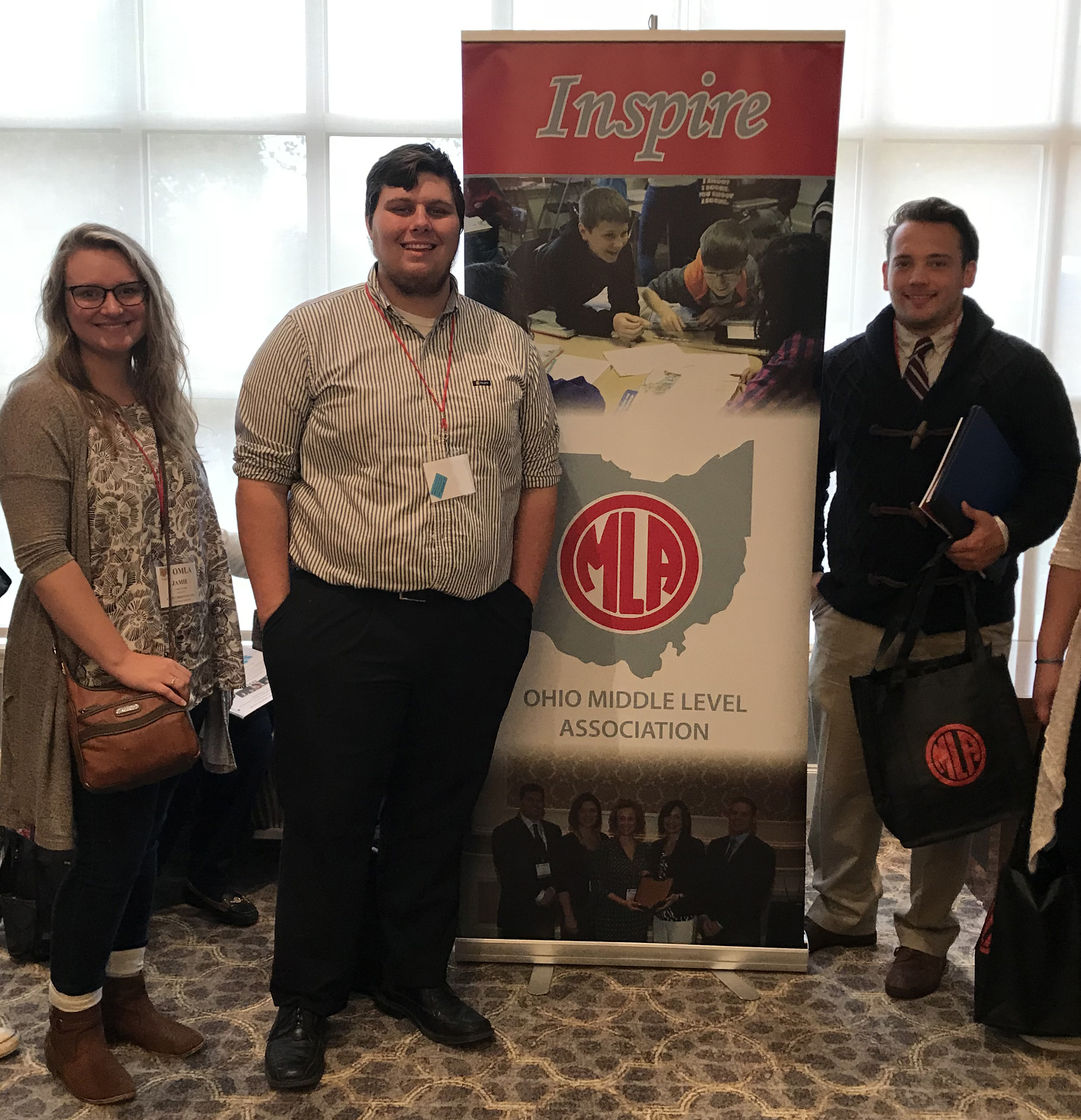 Teacher Education Students Attend MLA Conference image