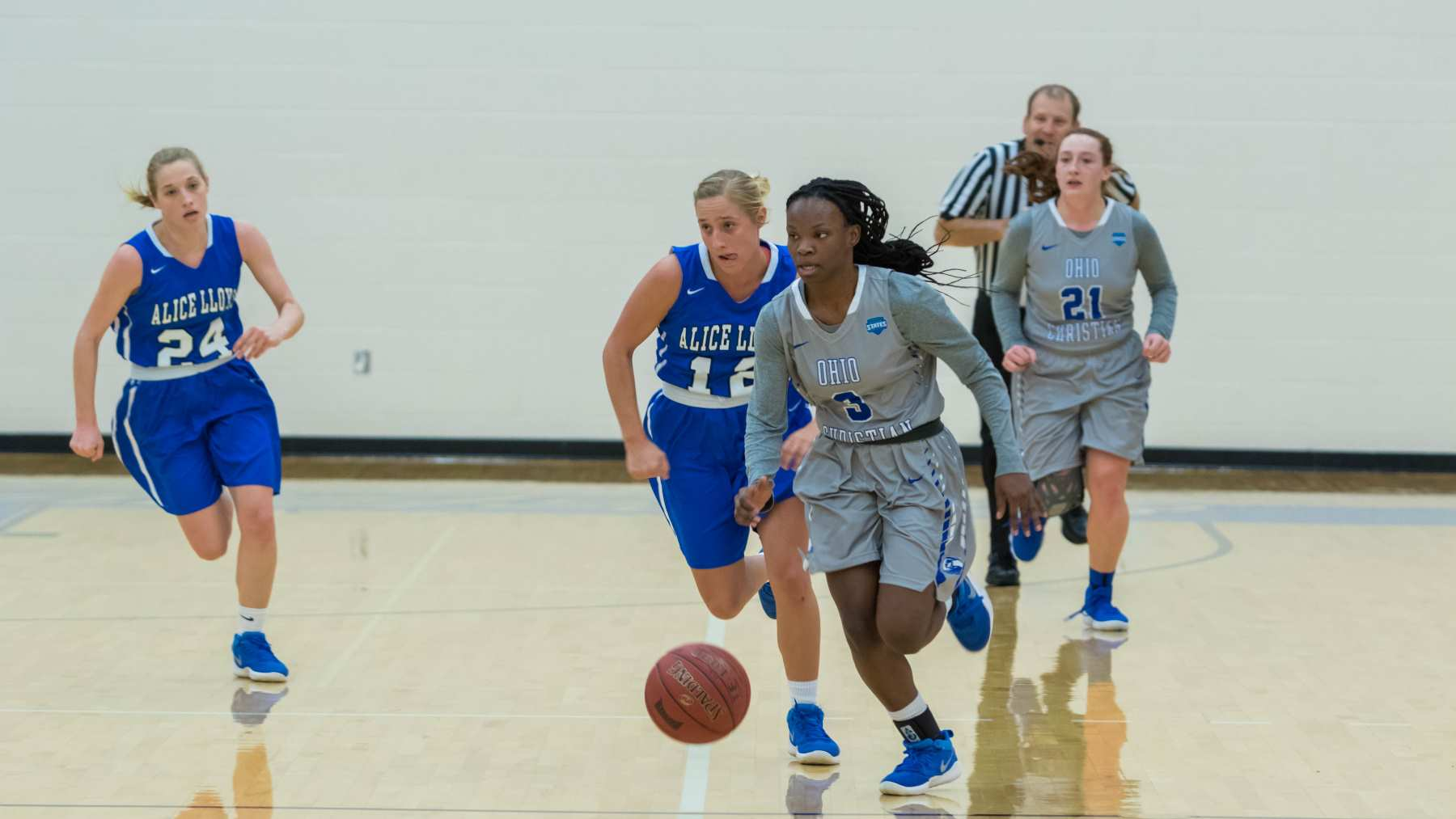 Lady Trailblazers Hold On Late, Take Down Bearcats image