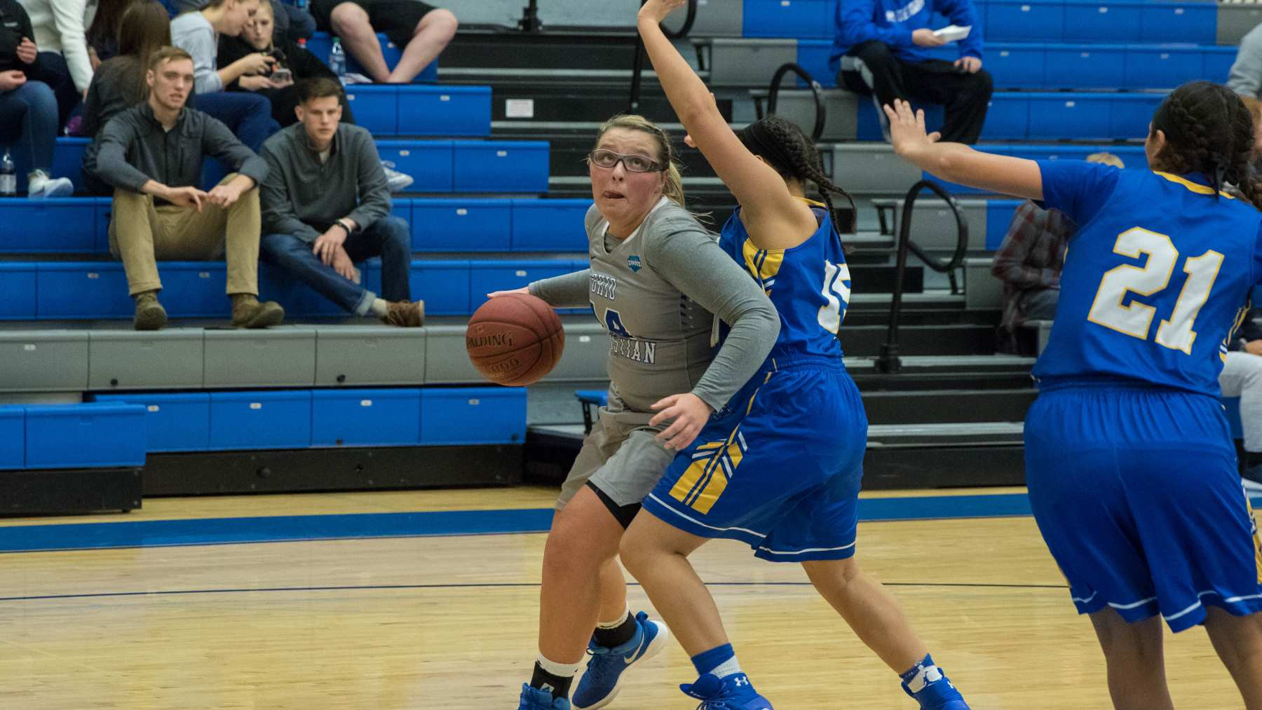 Lady Trailblazers Can't Slow Stille In Loss To Carlow image