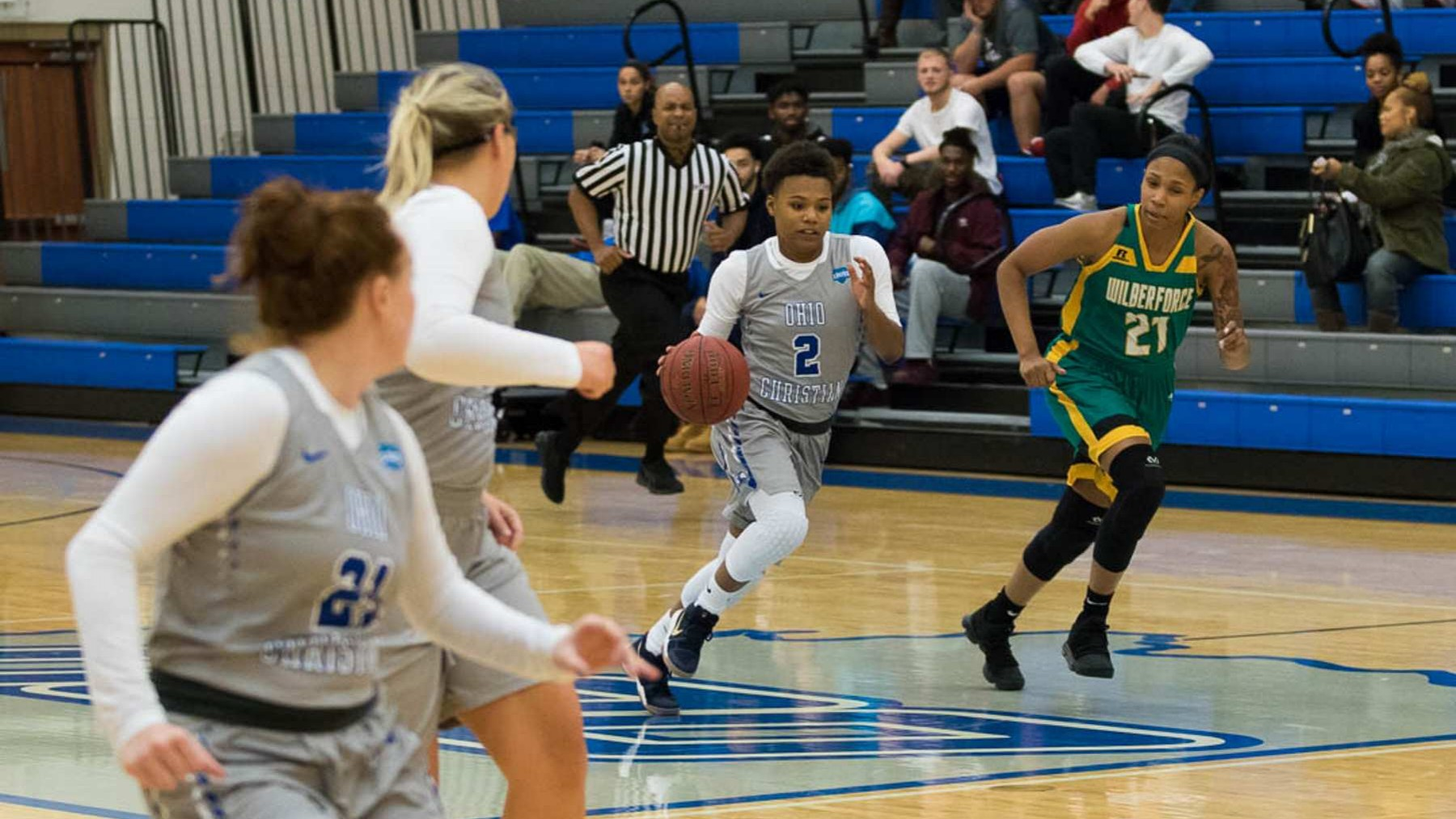 Lady Trailblazers Sweep Thunder Hawks, Move to 6-1 image
