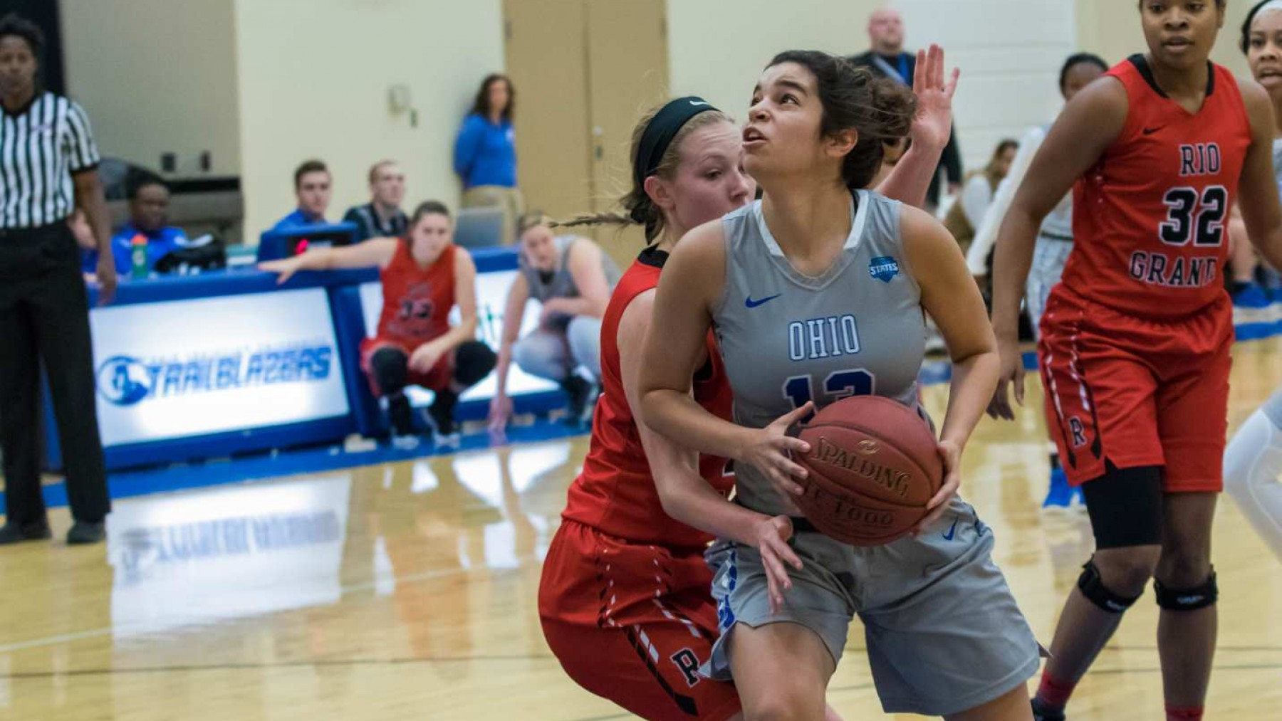 Lady Trailblazers Fall Short Against Pioneers image