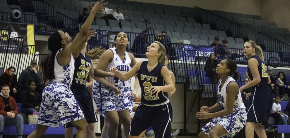 Lady Trailblazers Pick up 3rd Conference Win image