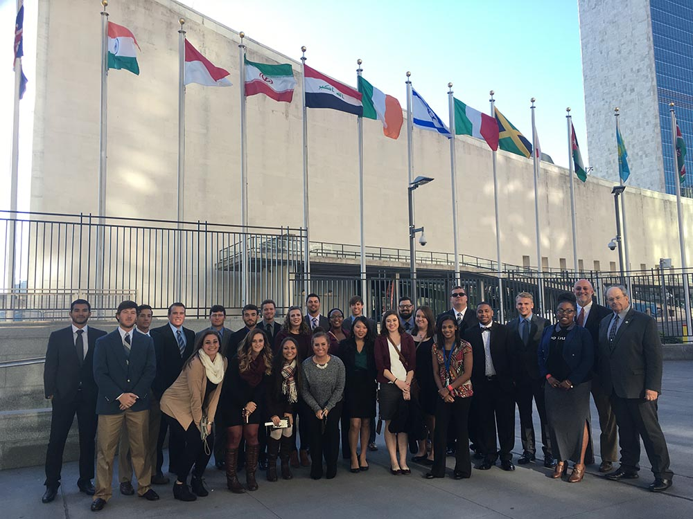OCU Business Students Visit the New York Stock Exchange